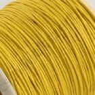 5 m Vékony viaszolt szál Sárga 1