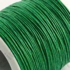 5 m Vékony viaszolt szál Zöld 1