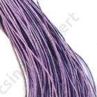 Viaszolt kord szál 1 mm lila