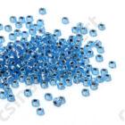 Ezüst közepű aqua AB / Silver Lined Aqua AB 91018 5g 11/0 2