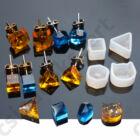 Mini fülbevaló szilikon öntőforma