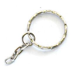 Kulcskarika, kulcstartó lánccal 21 mm
