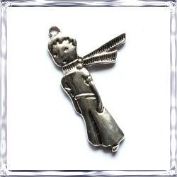Antikolt ezüst színű Kis Herceg medál