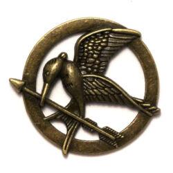 Antikolt bronz színű fecsegő poszáta medál