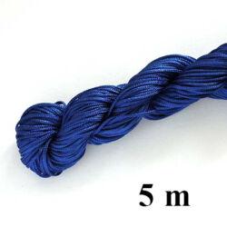 5 m Kék Fonott selyemszál
