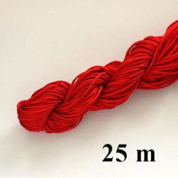 25 m Piros fonott selyemszál