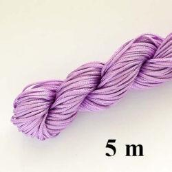 5 m Világos LilaFonott selyemszál