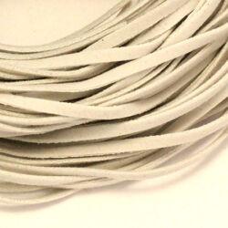 Lapos műbőr velúrszál 1 m Fehér