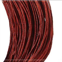 Viaszolt kord szál 1 mm piros