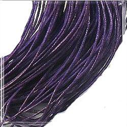 Viaszolt kord szál 1 mm sötét lila