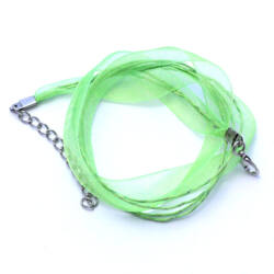 Lime Organza nyaklánc alap