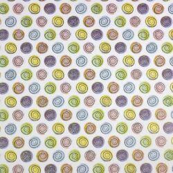 Akvarell Tavasz csillámos üveglencsés ékszer papír (281)