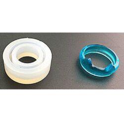 Cicafüles gyűrű szilikon öntőforma