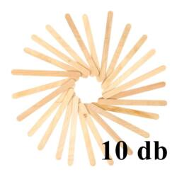 10 db Vékony fa spatula