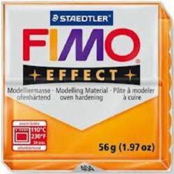Fimo Effect süthető gyurma 56g Áttetsző narancssárga / Transparent orange 404