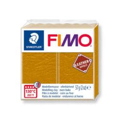 Fimo Leather süthető gyurma 56g Okker / Ocher 179
