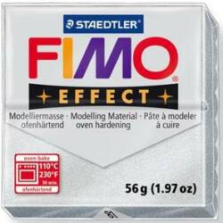 Fimo Effect süthető gyurma 56g Metál Ezüst 81