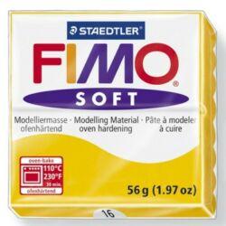 Fimo Soft süthető gyurma 56g Napsárga / Sunflower 16