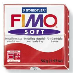Fimo Soft süthető gyurma 56g Indiai piros / Indian red 24
