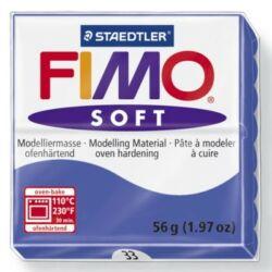 Fimo Soft süthető gyurma 56g Brillantkék /Brillant blue 33