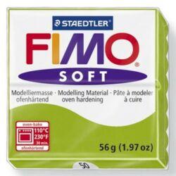 Fimo Soft süthető gyurma 56g Almazöld / Apple green 50