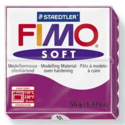 Fimo Soft süthető gyurma 56g Lila / Purple 61