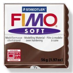 Fimo Soft süthető gyurma 56g Csokoládé / Chocolate 75