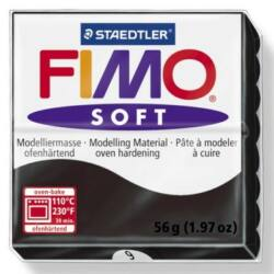 Fimo Soft süthető gyurma 56g Fekete /Black 9