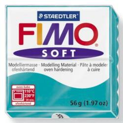 Fimo Soft süthető gyurma 56g Borsmenta / Peppermint 39