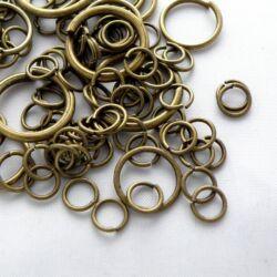 15 g Antikolt bronz vegyes szerelőkarika