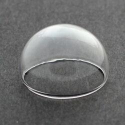 Üvegbúra, félgömb 25 mm