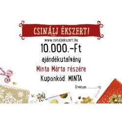 10.000 Ft-os Csinálj Ékszert! Ajándékutalvány