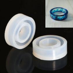 8-as méretű Gyűrű szilikon öntőforma