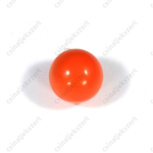 Korall piros 16 mm csengő golyó angyalhívó medálba