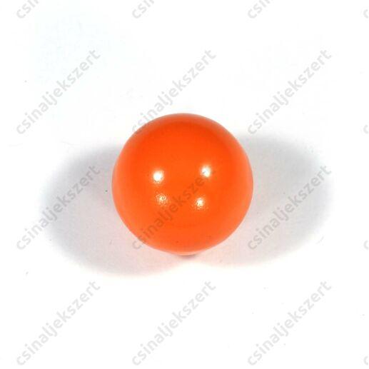 Narancssárga 18 mm csengő golyó angyalhívó medálba