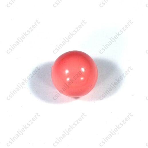 Rózsaszín 16 mm csengő golyó angyalhívó medálba