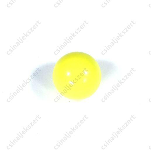 Sárga 16 mm csengő golyó angyalhívó medálba