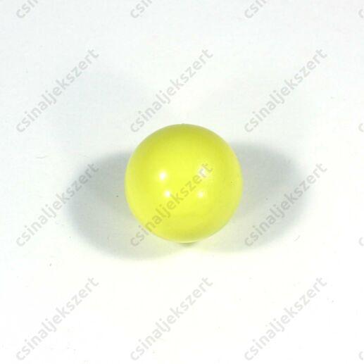 Sárga 18 mm csengő golyó angyalhívó medálba