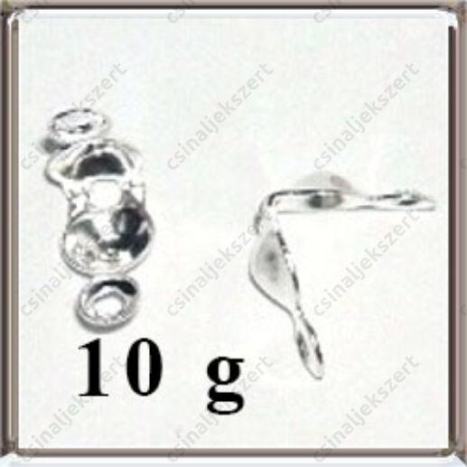 10 g Ezüstözött réz csomófogó