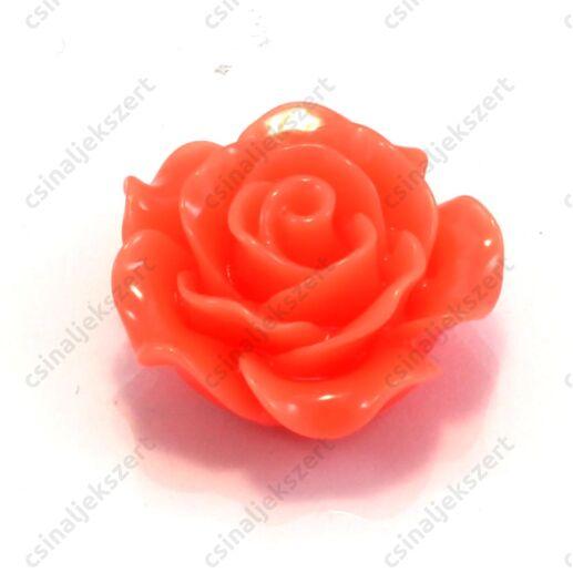 20 mm Narancssárga rózsa kaboson
