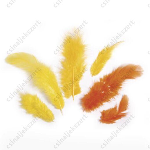 Sárga vegyes madártoll