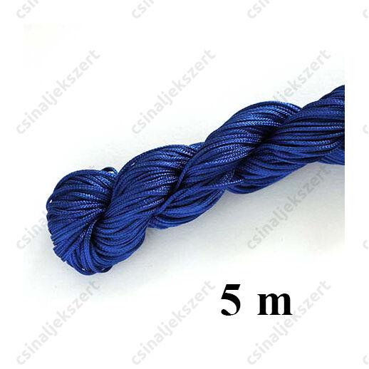 Fonott selyemszál 1 mm vastag 5 m Kék
