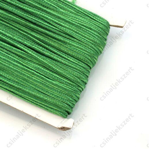 Páfrányzöld 3mm-es sujtás zsinór