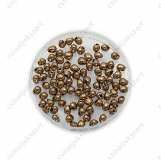 Metál bronz / Metallic Bronze 9457 5g Miyuki csepp gyöngy
