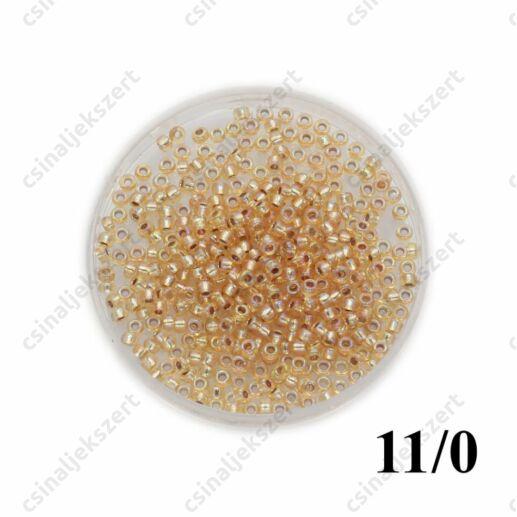 Ezüst közepű arany AB / Silver Lined Gold AB 91003 5g 11/0