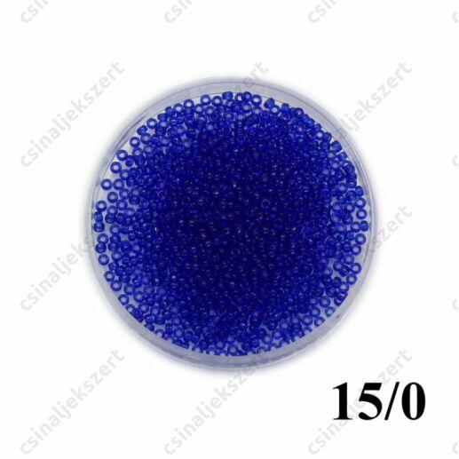 Átlátszó zafírkék / Transparent Cobalt 9151 5g 15/0