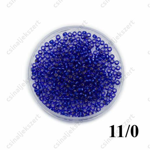 Ezüst közepű sötét zafírkék / Silver Lined Cobalt 920 5g 11/0