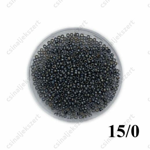 Matt metál ezüstszürke / Matte Met Silver Grey 92002 5g 15/0
