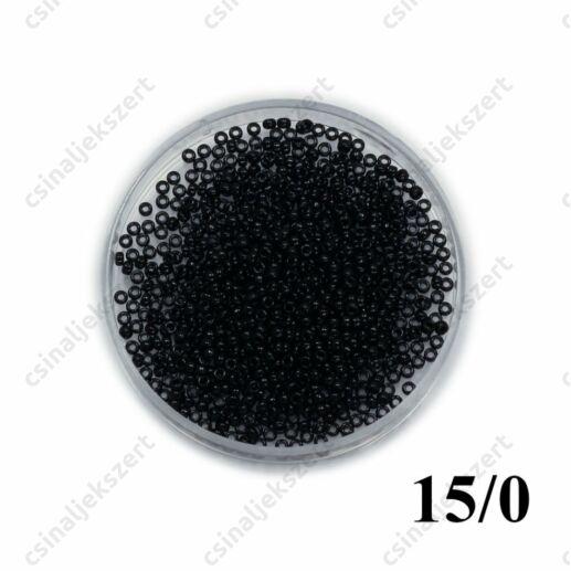 Fekete / Black Opaque 9401 5g 15/0