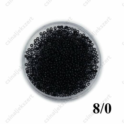 Fekete / Black Opaque 9401 5g 8/0